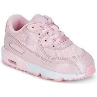 Sapatos Rapariga Sapatilhas Nike AIR MAX 90 MESH SE TODDLER Rosa