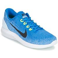 Sapatos Homem Sapatilhas de corrida Nike LUNARGLIDE 9 Azul