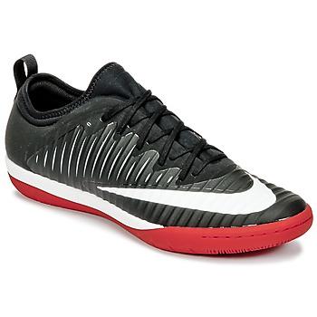 Sapatos Homem Chuteiras Nike MERCURIALX FINALE II IC Preto / Branco / Vermelho