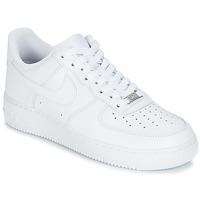 cheap for discount b5f2c 63538 Sapatos Homem Sapatilhas Nike AIR FORCE 1 07 Branco