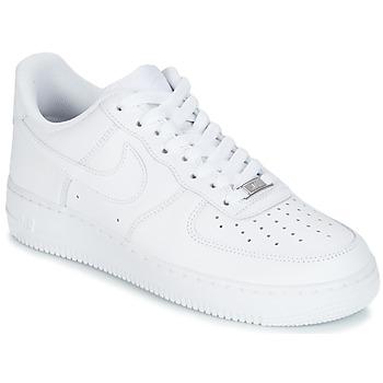Sapatos Homem Sapatilhas Nike AIR FORCE 1 07 Branco