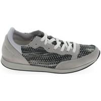Sapatos Mulher Sapatilhas Ippon Vintage Run Street Blanc Gris Cinza