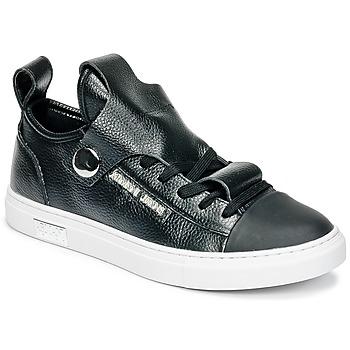 Sapatos Mulher Sapatilhas Armani jeans RATONE Preto