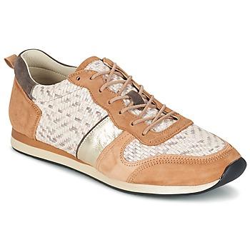 Sapatos Mulher Sapatilhas Bocage LANNY Conhaque / Branco