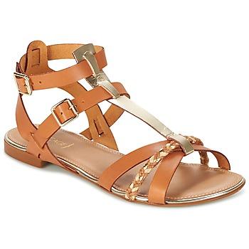 Sapatos Mulher Sandálias Bocage JARET Conhaque
