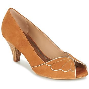 Sapatos Mulher Escarpim Bocage DAPHNE Conhaque