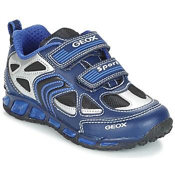 Sapatos Rapaz Sapatilhas Geox J SHUTTLE B. A Marinho / Azul