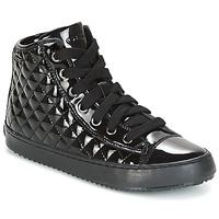 Sapatos Rapariga Sapatilhas de cano-alto Geox J KALISPERA G.F Preto