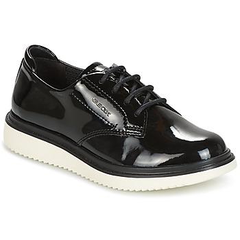 Sapatos Rapariga Sapatos Geox J THYMAR G. B Preto