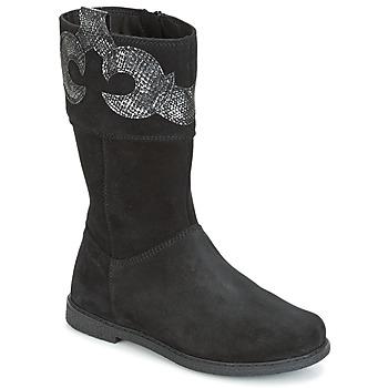 Sapatos Rapariga Botas Geox J SHAWNTEL G. C Preto