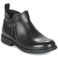 Sapatos Rapariga Botas baixas Geox J AGATA C Preto
