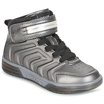 Sapatos Rapaz Sapatilhas de cano-alto Geox J ARGONAT B. B Preto