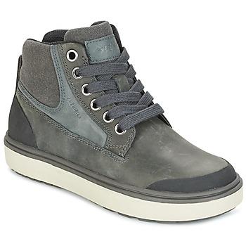 Sapatos Rapaz Sapatilhas de cano-alto Geox J MATT.B ABX C Cinza