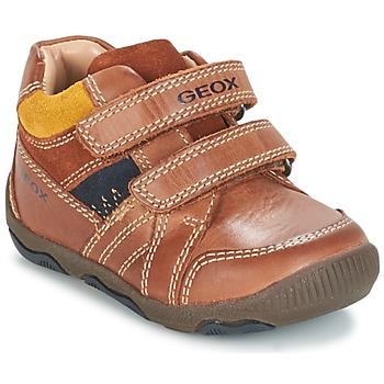 Sapatos Rapaz Sapatilhas Geox B N.BALU' B. B Castanho