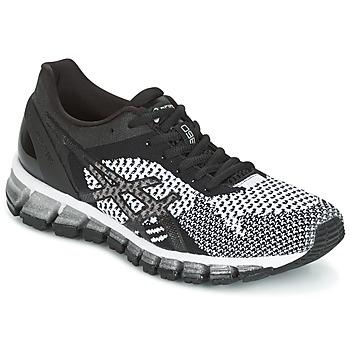 Sapatos Mulher Sapatilhas de corrida Asics GEL-QUANTUM 360 KNIT Preto / Branco