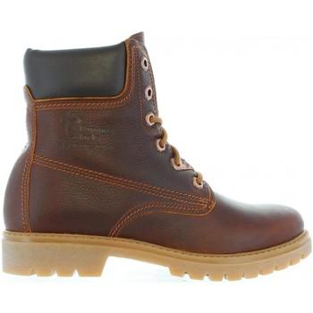 Sapatos Mulher Botins Panama Jack PANAMA 03 B44 Marr?n