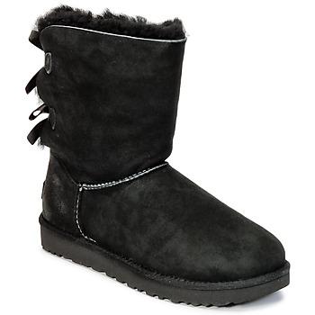 Sapatos Mulher Botas baixas UGG BAILEY BOW II Preto
