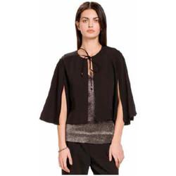 Textil Mulher Casacos de malha Kocca Capa BELSANG Preto