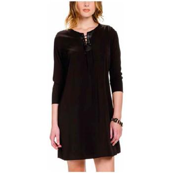 Textil Mulher Vestidos curtos Kocca Vestido Butae Preto