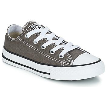 Sapatos Criança Sapatilhas Converse CHUCK TAYLOR ALL STAR SEAS OX Antracite