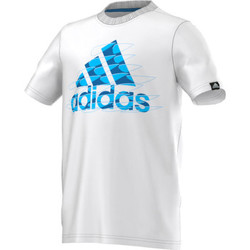 Textil Rapaz T-Shirt mangas curtas adidas Performance Tee-shirt Junior Branco