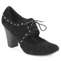 Sapatos Mulher Escarpim Sans Interdit ELINE Preto