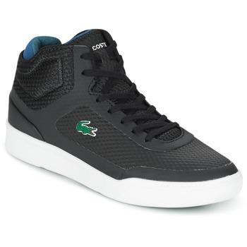 Sapatos Homem Sapatilhas de cano-alto Lacoste EXPLORATEUR SPT MID Preto / Verde
