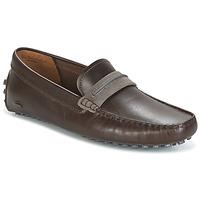 Sapatos Homem Mocassins Lacoste HERRON Castanho