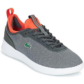 Sapatos Homem Sapatilhas Lacoste LT SPIRIT 2.0 Cinza / Vermelho