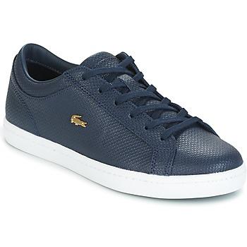 Sapatos Mulher Sapatilhas Lacoste STRAIGHTSET Marinho