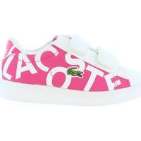 Sapatos Criança Sapatilhas Lacoste 33SPI1000 CARNABY Rosa