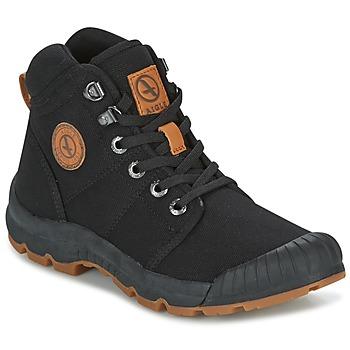 Sapatos Mulher Sapatilhas de cano-alto Aigle TENERE LIGHT W Preto