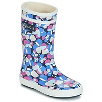 Sapatos Rapariga Botas de borracha Aigle LOLLY POP GLITTERY Azul