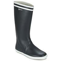 Sapatos Homem Botas de borracha Aigle GOELAND Marinho / Branco