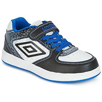 Sapatos Rapaz Sapatilhas Umbro DOGAN VLC Branco / Azul