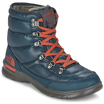 Sapatos Mulher Botas de neve The North Face THERMOBALL LACE II W Azul