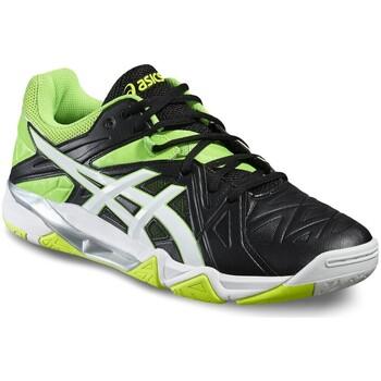 Sapatos Homem Desportos indoor Asics Gel Sensei 6 Noir