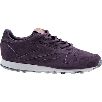 Sapatos Mulher Sapatilhas Reebok Sport Classic Leather Shimmer Violet