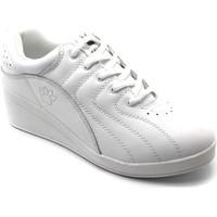Sapatos Mulher Desportos indoor Kelme Esporte sapatos com cunha  em branco blanco