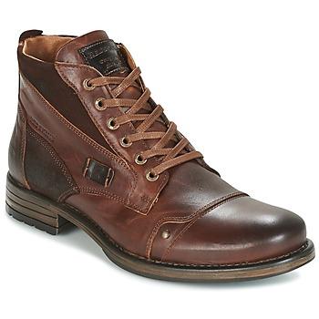 Sapatos Homem Botas baixas Redskins YVORI Castanho