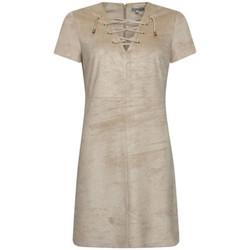 Textil Mulher Vestidos curtos Kocca Vestido YAYA Bege