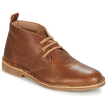 Sapatos Homem Botas baixas Selected ROYCE CHUKKALA Conhaque