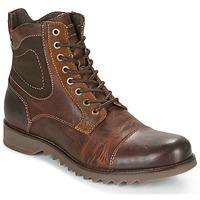 Sapatos Homem Botas baixas Jack & Jones DEAN LEATHER Castanho