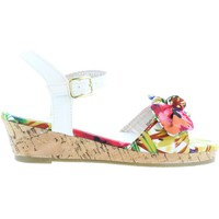 Sapatos Rapariga Sandálias Flower Girl 340093-B4600 Blanco