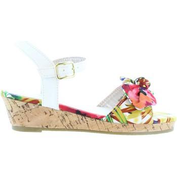 Sapatos Rapariga Sandálias Flower Girl 340093-B4600 Blanco