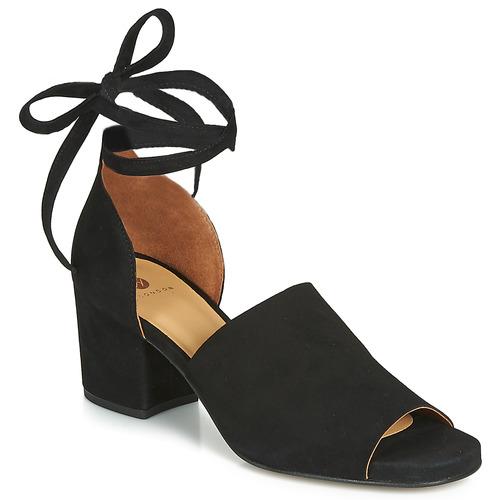 Sapatos Mulher Sandálias Hudson METTA Preto