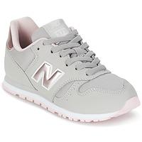 Sapatos Rapariga Sapatilhas New Balance KJ374 Cinza / Rosa