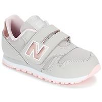 Sapatos Rapariga Sapatilhas New Balance KV373 Cinza / Rosa