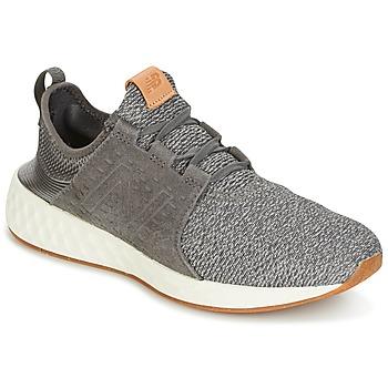 Sapatos Homem Sapatilhas de corrida New Balance CRUZ Cinza / Branco
