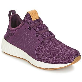 Sapatos Mulher Sapatilhas de corrida New Balance CRUZ Bordô